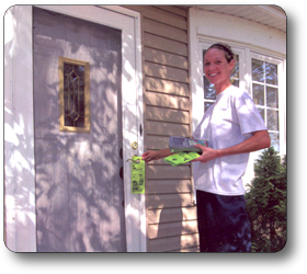 Door-to-Door Advertising Service